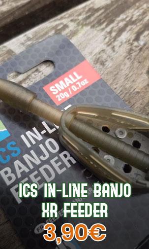 ICS IN-LINE BANJO XR FEEDER